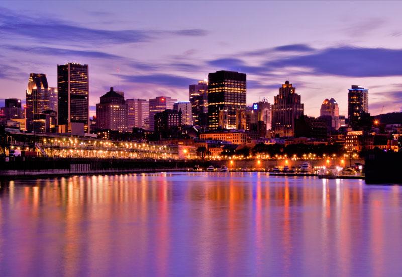 viagens saindo de Toronto - Montreal