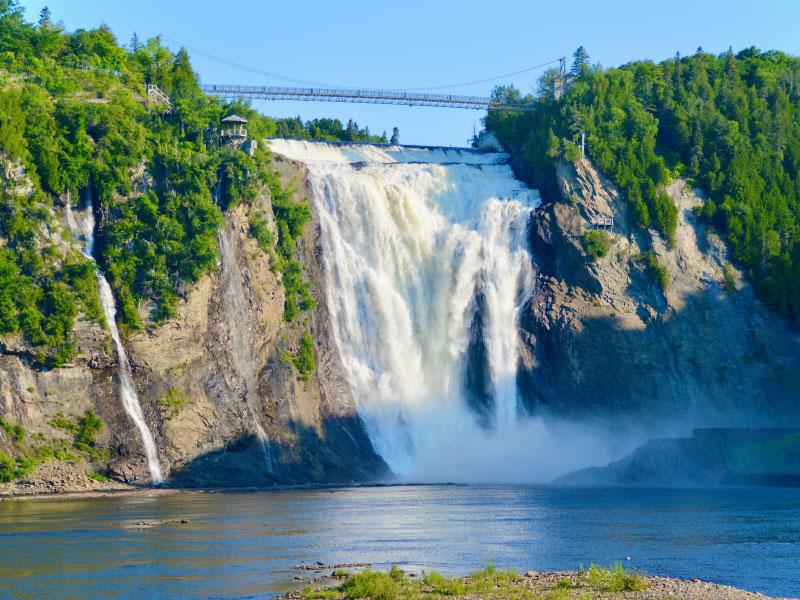 viagens saindo de Toronto - Montmorecy Falls