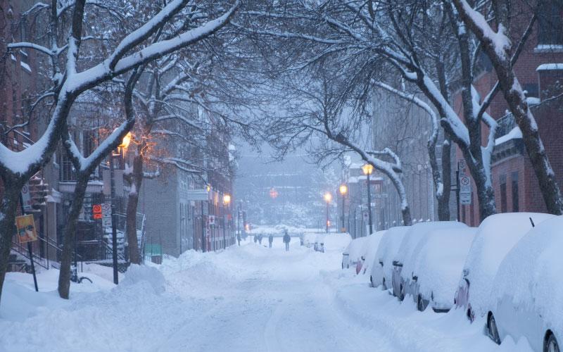intercâmbio em Montreal - inverno