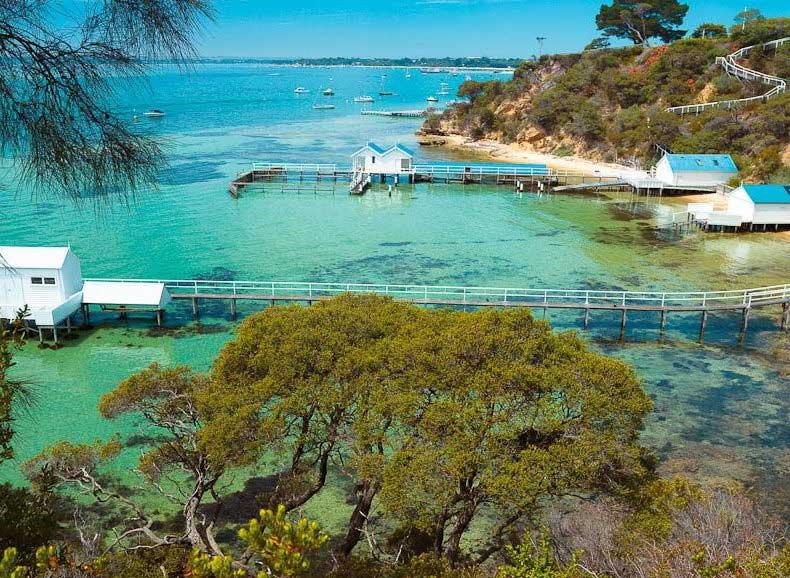 praias australianas para visitar virtualmente - Point King Beach