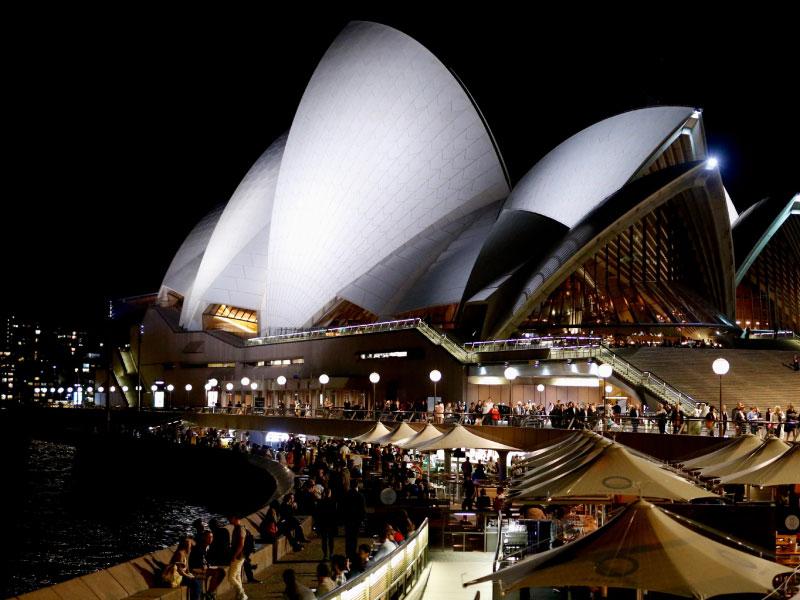 Intercâmbio em Sydney - Opera Bar