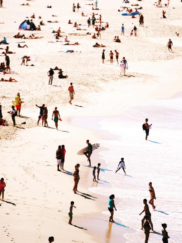 Intercâmbio em Sydney - Bondi Beach