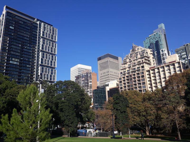 Intercâmbio em Sydney - Hyde Park