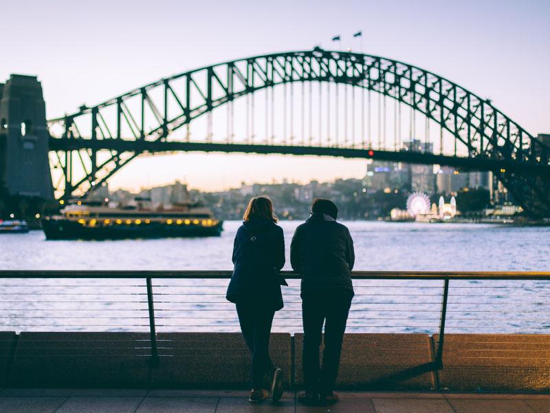 Intercâmbio em Sydney - intercambistas